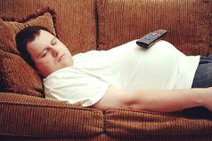 Плотно накормленный и напоенный муж, аккуратно уложенный на диван не причиняет никаких хлопот  и легко вписывается в интерьер любой квартиры.