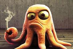 Осьминог - самое бедное существо. У него и ноги от ушей. И руки из жопы. И жопа с ушами. И голова в жопе! Но он же не жалуется на жизнь.
