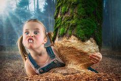 Как ребенка не воспитывай, все равно будет похож на тебя.