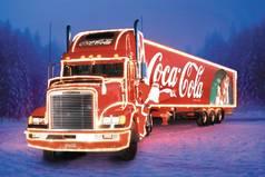 Ура! Началось! Снова машины с Coca-Cola поехали! Аромат мандаринов повсюду! Новый год наступает!