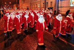 Под Новый год все мужья немножко Деды Морозы…