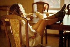 Когда женщина живет одна - это не страшно... Страшно, когда она живет одна вместе с мужчиной.