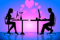 2 часа ночи. Он и она в сети. Он ждет, что она ему напишет, она ждет что напишет он ... Гордость ... Так и сидели до утра ...