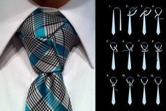 Хорошо завязанный галстук — это первый важный шаг в жизни.