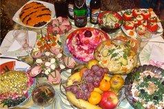 Первое разочарование Нового года: Еда больше