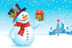 Новогоднее настроение - это когда рад видеть даже тех, кто ошибся дверью.