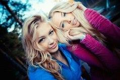 Лучшие подруги... Не держите никогда обиду друг на друга, даже маме иногда не скажешь то, что подруге...