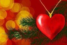Дед Мороз! Пожалуйста, положи мне на Новый год под ёлку кусочек счастья.
