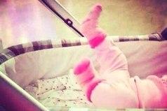 Наивысшее счастье - катать в коляске, его маленькую копию.