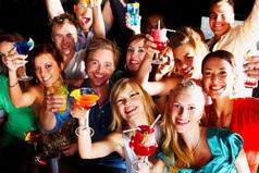 Нам с друзьями не нужен алкоголь и наркотики, как только мы встречаемся, нам уже весело!
