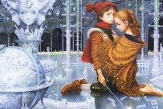 Мы с братом такие родные, как персонажи сказки «Снежная королева» Кай и Герда.