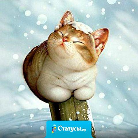 Снег кружи-и-ится, лета-а-ает, лета-а-ает... ему пофиг, что апрель наступает!