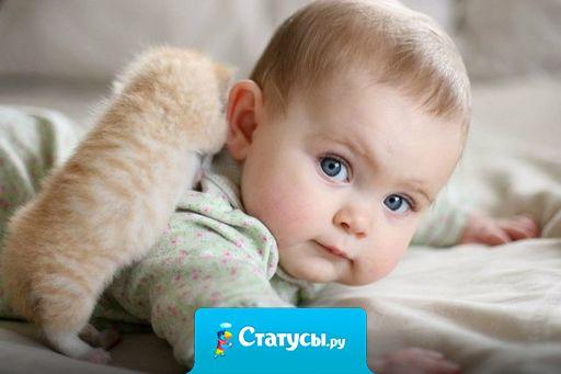 Мы дарим детям жизнь, они дарят нам ее смысл.