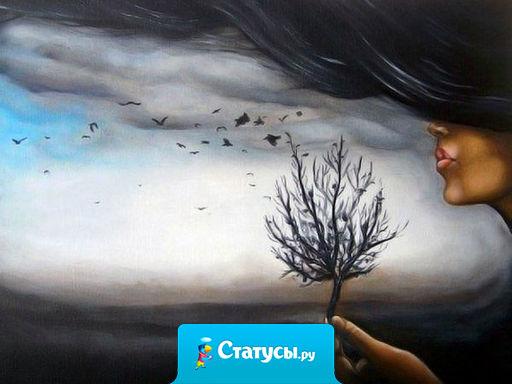 Иногда бури бывают полезны для человека: немного потреплют вашу душу, но и вынесут всю грязь.