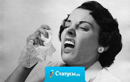Только в России чихающему человеку первые 2 раза говорят: