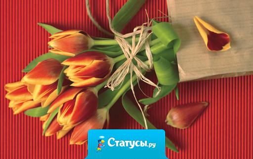С наступающим 8 марта, крошки! Счастья всем и радости и поменьше тяжких моментов в жизни! От всего сердца.