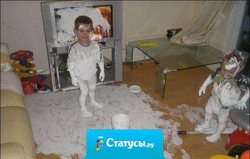 В доме разруха, голодные дети, мама часами сидит в интернете.