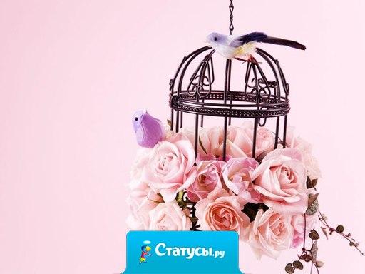 На руке, дарящей розы, всегда останется их аромат...