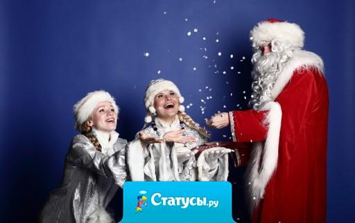 Дед Мороз, Дед Мороз, подари мне новый мозг! Йеллоупуки, Йеллоупуки, переставь мне с попы руки.
