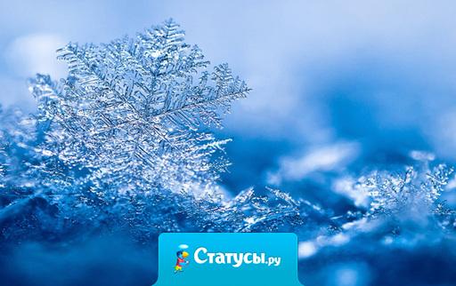 Если снежинка не раста-а-ает, в твоей ладони не раста-а-ает... Блин, чувак, ты труп, стопудово!