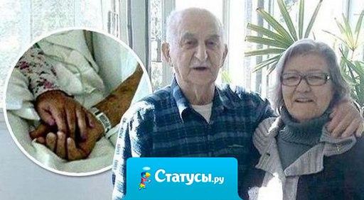 Супруги из Бразилии прожили вместе 65 лет - и скончались с разницей в 40 минут.