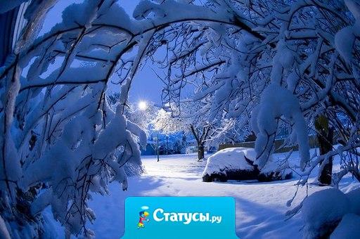 Хотелось бы чего-то необычного этой зимой. Например, снега.