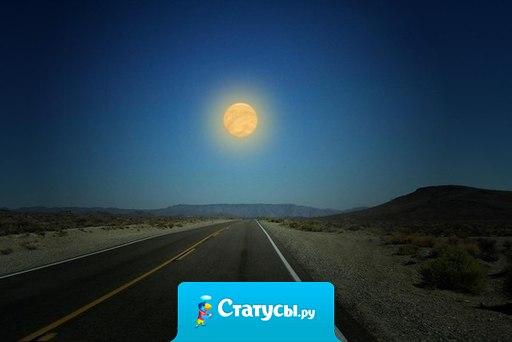 Где бы ни был каждый из нас, мы всегда будем видеть одну луну.