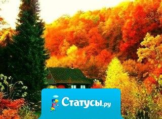 Пусть эта осень будет полна сюрпризов.