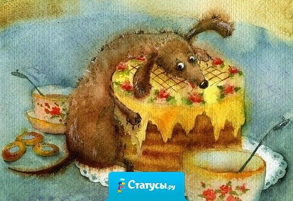 Чай – это божественный напиток, который даёт нам повод с чистой совестью съесть перед сном полкило конфет и пару-тройку кусочков торта.